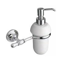 Дозатор для жидкого мыла JACKLYN, хром, LUX-JAC-CA310-CR