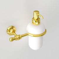 Дозатор для жидкого мыла JACKLYN, золото, LUX-JAC-CA313-GL