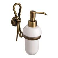 Дозатор для жидкого мыла LUDOVICA, бронза, LUX-LUD-TR314-BR