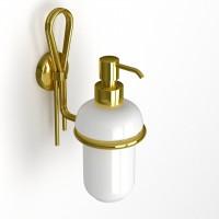 Дозатор для жидкого мыла MERILYN, золото, LUX-MER-EL313-GL