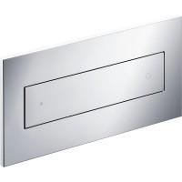 Панель смыва SVG, двойная пластиковая с прямоугольной клавишей на двойной смыв, хром, SVG-ADV30252-CR
