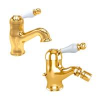 Комплект смесителей EM №3, золото, KIT-EMI-5155-GL