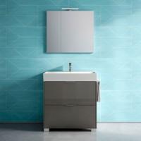 Зеркальный шкаф NORMAL, правый, 80x17x70, ST-B7P582D-EH5059