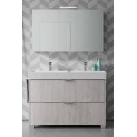 Зеркальный шкаф NORMAL, правый, 120х17х70, ST-B7P512D-EH5059