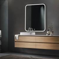 Зеркало DIVA, 70x80x3, с подсветкой по периметру LED, ST-DIVA708030-CR