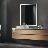 Зеркало EDGE, 70x80x3, с подсветкой по периметру LED, ST-EDGE708030-CR