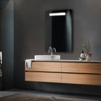 Зеркало FEST, 70x80x3, с подсветкой LED, ST-FEST708030-CR