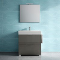 Зеркальный шкаф NORMAL, левый, 80x17x70, ST-B7P582S-EH5059