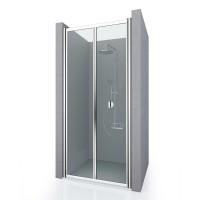 Душевая дверь в нишу ASTRA NEW, 75x190, профиль хром, стекло прозрачное, ST-ASTR07-NTRCR-NEW