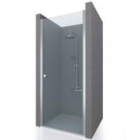 Душевая дверь в нишу DOOR NEW, 75x190, профиль хром, стекло прозрачное, ST-DOOR07-NTRCR-NEW