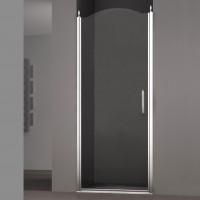 Душевая дверь в нишу SCHICK, 90x207, левая, профиль хром, стекло прозрачное, LUX-SCHI09-LTRCR