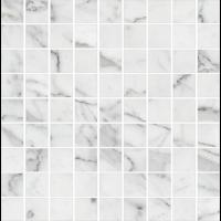 Керамогранит STURM Bianco Carrara, мозаика, 30х30 см, поверхность матовая, K-7330-MR-m01-300x300x10