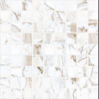 Керамогранит STURM Calacatta, мозаика, 30х30 см, поверхность матовая, K-7331-MR-m01-300x300x10