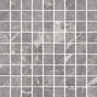 Керамогранит STURM Silver Marble, мозаика, 30х30 см, поверхность матовая, K-7336-MR-m01-300x300x10