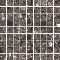 Керамогранит STURM Nero Venezia, мозаика, 30х30 см, поверхность матовая, K-8100-MR-m01-300x300x10