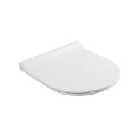 Сиденье NEU NEW / DREAM, тонкое легкосъемное с микролифтом, белое/хром, SW-NE14053-CR NEW