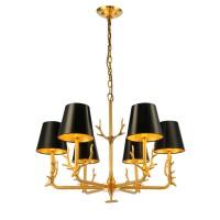 Люстра HARDY, золото/черный, STL-HAR012532