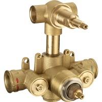 Встраиваемая часть термостата ZA, для серий CE-CF-CX, на 2 потребителя, LUX-ZA191-WF