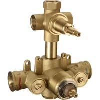 Встраиваемая часть термостата ZA, для серий CE-CF-CX, на 3 потребителя, LUX-ZA192-WF